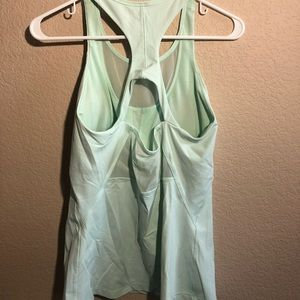 Lululemon tank top mint green Sz 12
